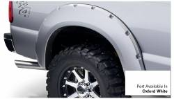 Bushwacker - Bushwacker 20931-12 Pocket Style Front/Rear Fender Flares-Oxford White - Image 5