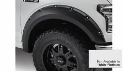 Bushwacker - Bushwacker 20935-22 Pocket Style Front/Rear Fender Flares-White Platinum - Image 2