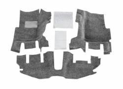 Bed Rug - Bed Rug BRTJ97FNC BedRug Classic Carpeted Floor Liner-Front - Image 1