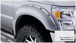 Bushwacker - Bushwacker 20931-22 Pocket Style Front/Rear Fender Flares-White Platinum - Image 3