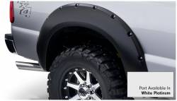 Bushwacker - Bushwacker 20931-22 Pocket Style Front/Rear Fender Flares-White Platinum - Image 4