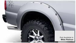 Bushwacker - Bushwacker 20931-22 Pocket Style Front/Rear Fender Flares-White Platinum - Image 5