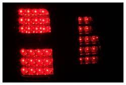 Anzo USA - Anzo USA 311097 Black LED Tail Light Set-Clear Lens - Image 2