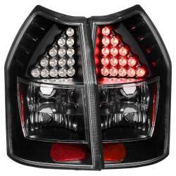 Anzo USA - Anzo USA 321017 Black LED Tail Light Set-Clear Lens - Image 1