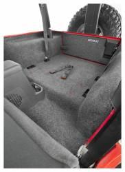 Bed Rug - Bed Rug BRTJ97R BedRug Classic Carpeted Floor Liner-Rear/Cargo - Image 2