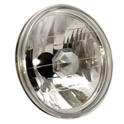 """Anzo USA - Anzo USA 841002 7"""" Round Universal Headlight-Diamond Cut, Each - Image 1"""