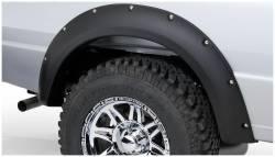 Bushwacker - Bushwacker 21038-02 Pocket Style Rear Fender Flares-Black - Image 1