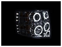Anzo USA - Anzo USA 111086 Projector Headlight Set w/ CCFL Halo-Chrome - Image 2