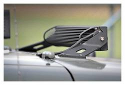 """Rough Country Suspension Systems - Rough Country 70533 20"""" LED Light Bar Hood Mounting Brackets - Image 4"""