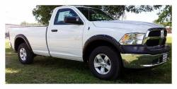 Rough Country Suspension Systems - Rough Country F-D10911 Pocket Style Fender Flares w/ Rivets fits Chrome Bumper Models - Image 2