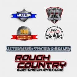 Rough Country Suspension Systems - Rough Country F-D10911 Pocket Style Fender Flares w/ Rivets fits Chrome Bumper Models - Image 3