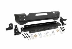 Rough Country Suspension Systems - Rough Country 1012 High Clearance Stubby Front Winch Mount Bumper - Image 1