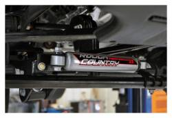 Rough Country Suspension Systems - Rough Country 1108 Steering Stabilizer Relocation Bracke - Image 2