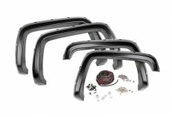 Rough Country Suspension Systems - Rough Country F-C18811 Pocket Style Fender Flares w/ Rivets - Image 2
