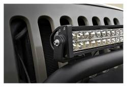 """Rough Country Suspension Systems - Rough Country 70207 20"""" LED Light Bar Bumper Guard Mount Brackets fits RC 1056 - Image 2"""