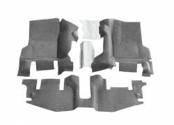 Bed Rug - Bed Rug BTTJ97FNC BedTred Composite Floor Liner-Front - Image 1