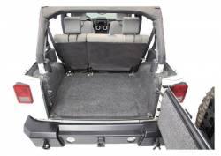 Bed Rug - Bed Rug BRJK07R2 BedRug Classic Carpeted Floor Liner-Rear/Cargo - Image 2