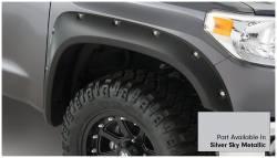 Bushwacker - Bushwacker 30918-53 Pocket Style Front/Rear Fender Flares-Silver Sky Metallic - Image 2