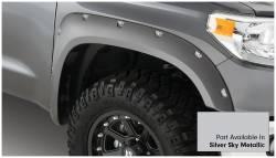 Bushwacker - Bushwacker 30918-53 Pocket Style Front/Rear Fender Flares-Silver Sky Metallic - Image 3