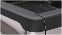 Bushwacker - Bushwacker 28509 Smoothback Side Bed Rail Caps w/o Holes-Black - Image 1