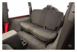 Bed Rug - Bed Rug BRYJ87R BedRug Classic Carpeted Floor Liner-Rear/Cargo - Image 2