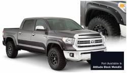Bushwacker - Bushwacker 30918-43 Pocket Style Front/Rear Fender Flares-Midnight Black Metallic - Image 1
