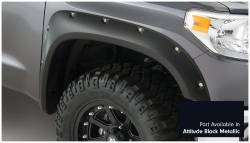 Bushwacker - Bushwacker 30918-43 Pocket Style Front/Rear Fender Flares-Midnight Black Metallic - Image 2