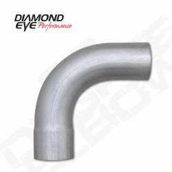 """Diamond Eye - Diamond Eye 529020 Elbow 4"""" 90 Degrees Aluminized - Image 1"""