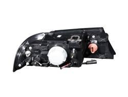 Anzo USA - Anzo USA 111046 Crystal Headlight Set-Black - Image 2