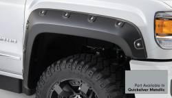 Bushwacker - Bushwacker 40968-54 Boss Pocket Front/Rear Fender Flares-Quicksilver Metallic - Image 2