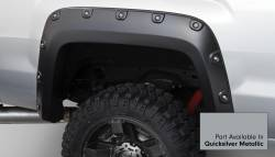 Bushwacker - Bushwacker 40968-54 Boss Pocket Front/Rear Fender Flares-Quicksilver Metallic - Image 3