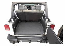 Bed Rug - Bed Rug BTJK07R2 BedTred Composite Floor Liner-Rear/Cargo - Image 2