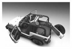 Bed Rug - Bed Rug BTJK07R2 BedTred Composite Floor Liner-Rear/Cargo - Image 4