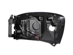 Anzo USA - Anzo USA 111103 Projector Headlight Set w/ CCFL Halo-Chrome - Image 3