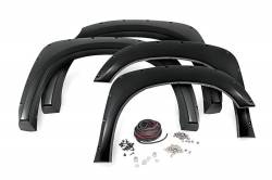 Rough Country Suspension Systems - Rough Country F-T11411 Pocket Style Fender Flares w/ Rivets - Image 1