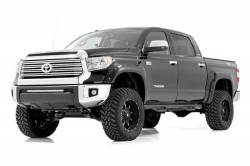 Rough Country Suspension Systems - Rough Country F-T11411 Pocket Style Fender Flares w/ Rivets - Image 2