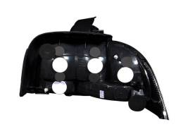 Anzo USA - Anzo USA 221020 Black Euro Tail Light Set-Clear Lens - Image 2