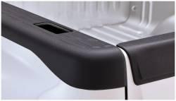 Bushwacker - Bushwacker 49521 Factory Style Side Bed Rail Caps w/ Holes-Black - Image 1