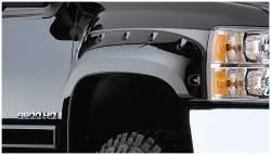 Bushwacker - Bushwacker 40087-02 Pocket Style Front Fender Flares-Black - Image 1