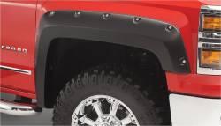 Bushwacker - Bushwacker 40119-02 Pocket Style Front Fender Flares-Black - Image 1