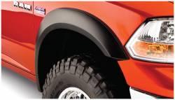 Bushwacker - Bushwacker 50035-02 Extend-a-Fender Front Fender Flares-Black - Image 1