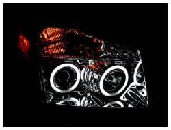 Anzo USA - Anzo USA 111094 Projector Headlight Set w/ CCFL Halo-Chrome - Image 2