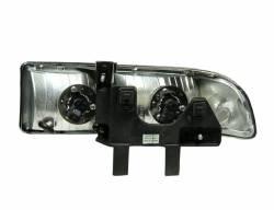 Anzo USA - Anzo USA 111014 Crystal Headlight Set-Chrome - Image 2