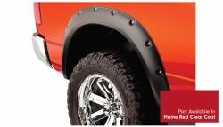 Bushwacker - Bushwacker 50915-75 Pocket Style Front/Rear Fender Flares-Flame Red Clear Coat - Image 4