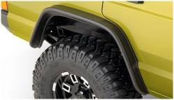 Bushwacker - Bushwacker 10064-07 Flat Style Rear Fender Flares-Black - Image 1