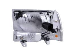 Anzo USA - Anzo USA 111080 Crystal Headlight Set w/ Corners-Black - Image 2