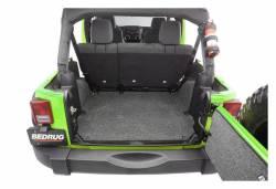 Bed Rug - Bed Rug BRJK11R4 BedRug Classic Carpeted Floor Liner-Rear/Cargo - Image 4