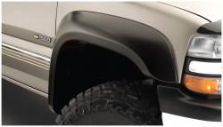Bushwacker - Bushwacker 40103-02 Extend-a-Fender Front Fender Flares-Black - Image 1