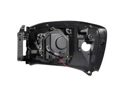 Anzo USA - Anzo USA 111104 Projector Headlight Set w/ CCFL Halo-Black - Image 3