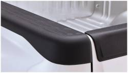 Bushwacker - Bushwacker 49516 Factory Style Side Bed Rail Caps w/o Holes-Black - Image 1